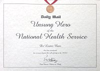 Unsung Hero of the Health Service